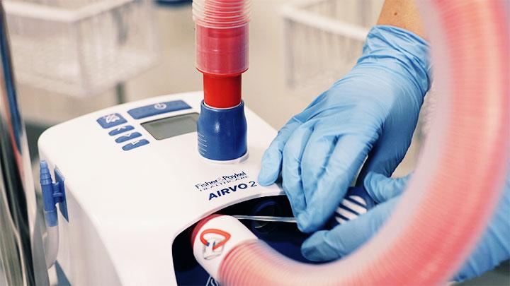Reprocessing Airvo 2