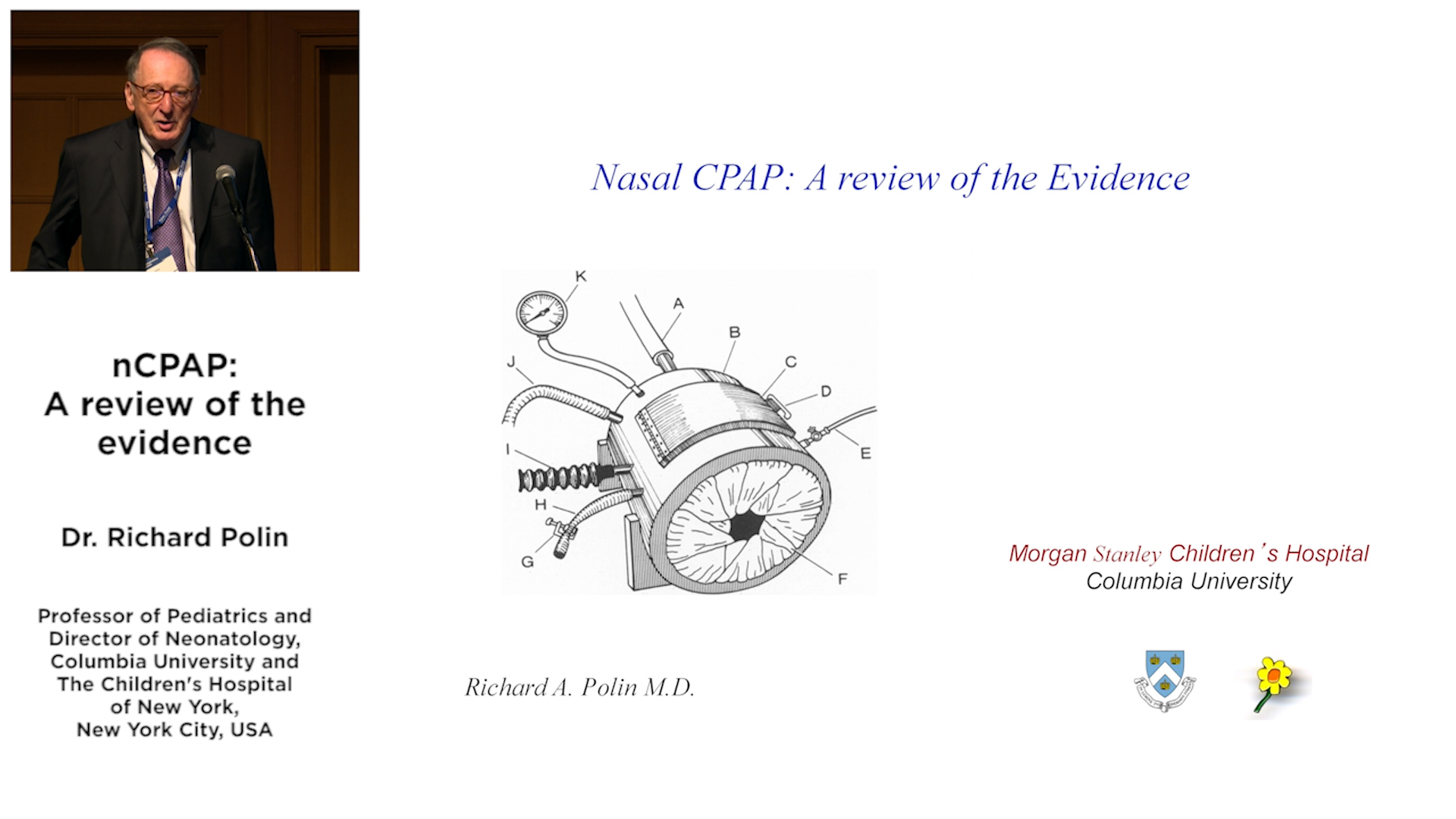 nCPAP: A review of the evidence - Dr. Richard Polin