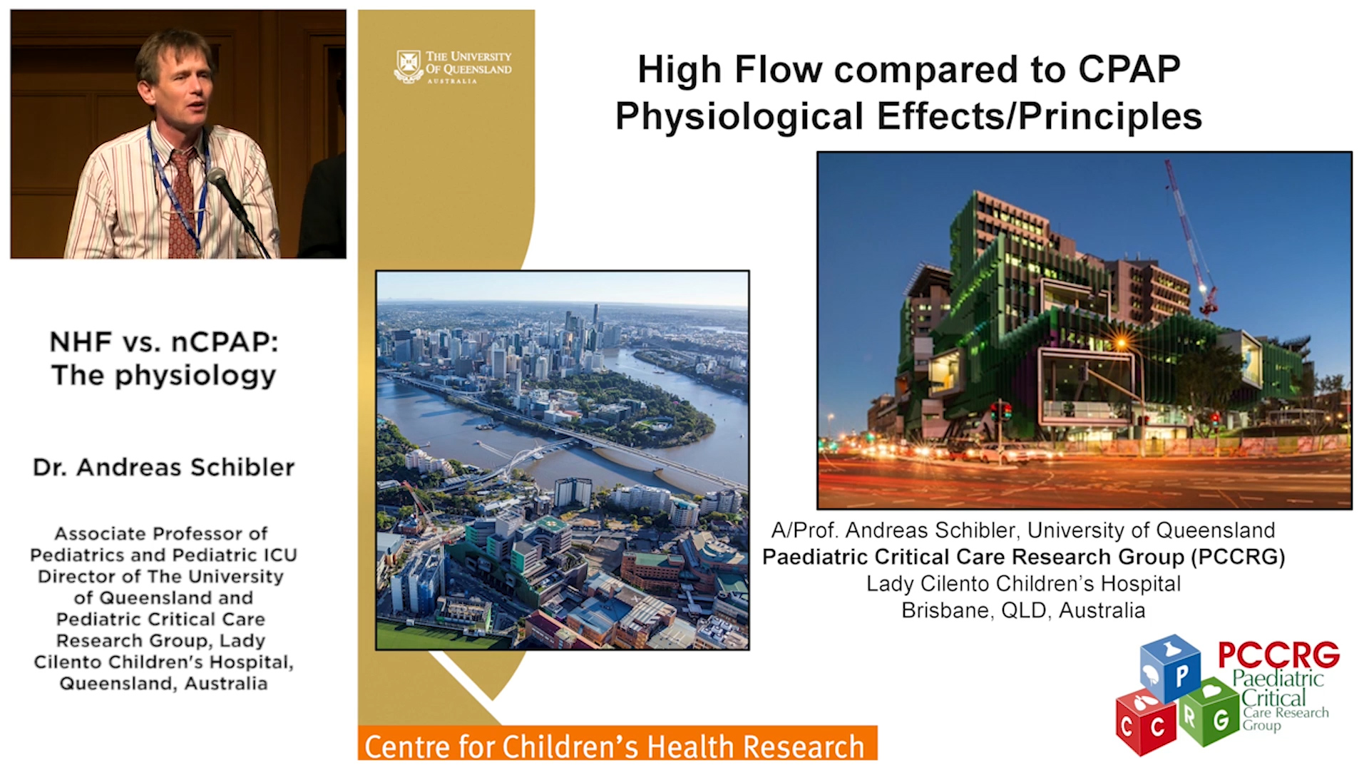 NHF vs. nCPAP: The physiology - Dr Andreas Schibler