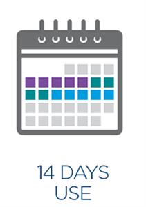 14 days use