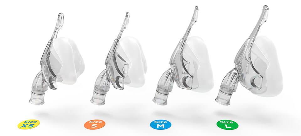 Nivairo RT045 and RT046 are available in four sizes to fit a wide size range of patients