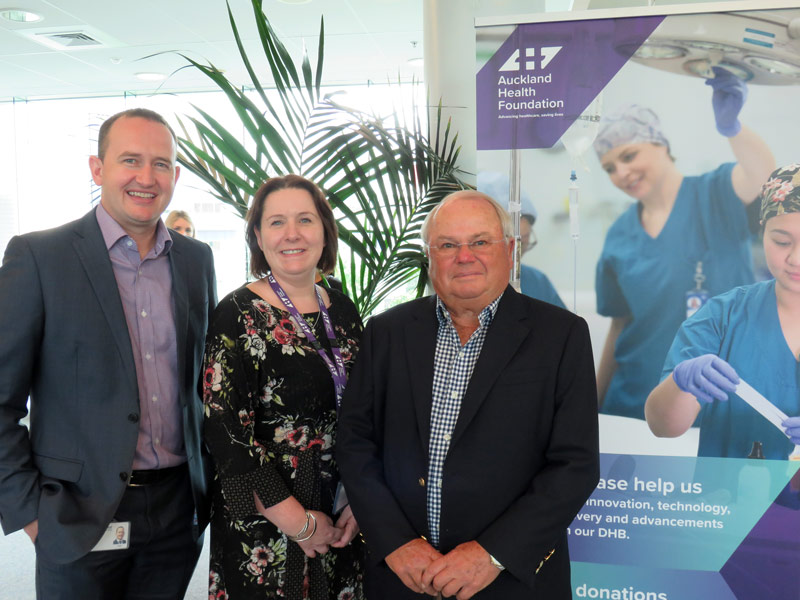 Fisher & Paykel Healthcare announce partnership with the Auckland Health Foundation