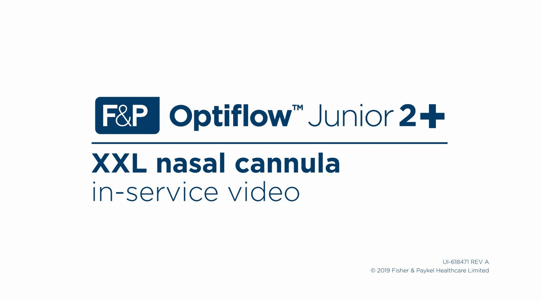Optiflow Junior 2 XXL In-Service Video