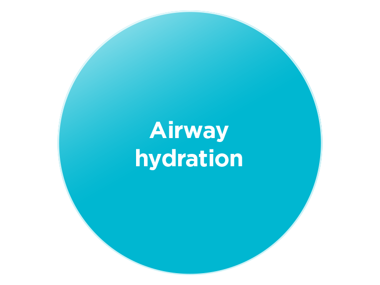 Airway hydration