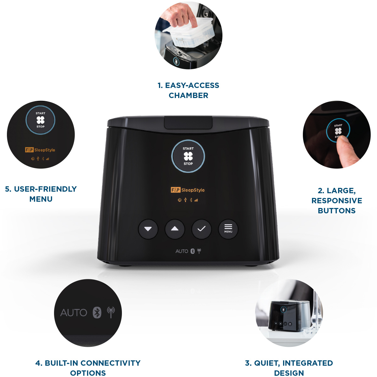 Eson Key Features Glance
