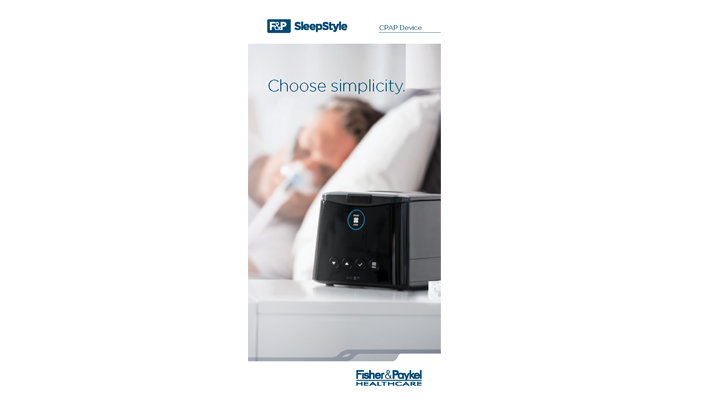 Download the F&P SleepStyle Pairing Guide