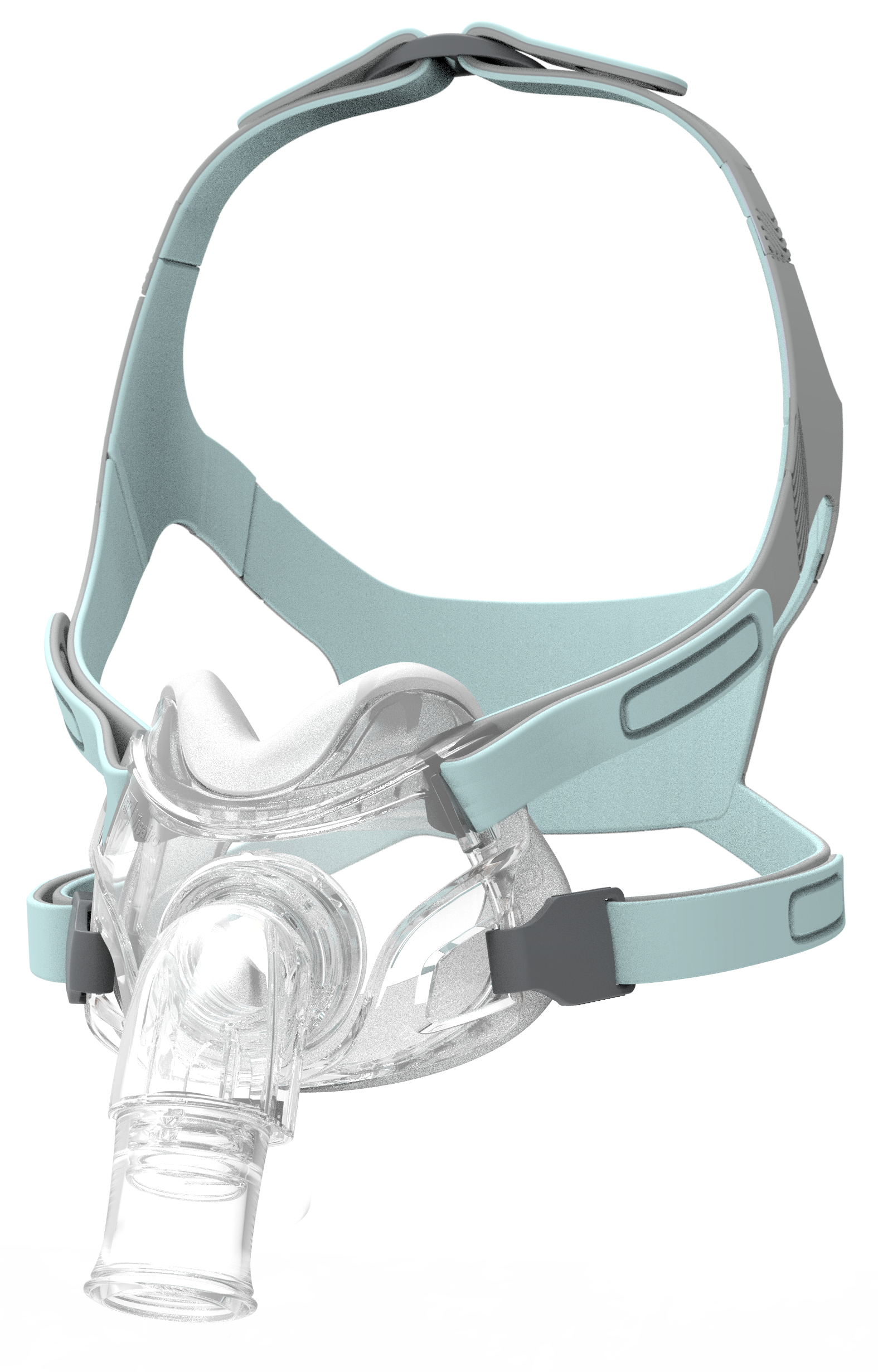 Non-vented Hospital Under Nose Mask with anti-asphyxiation valve