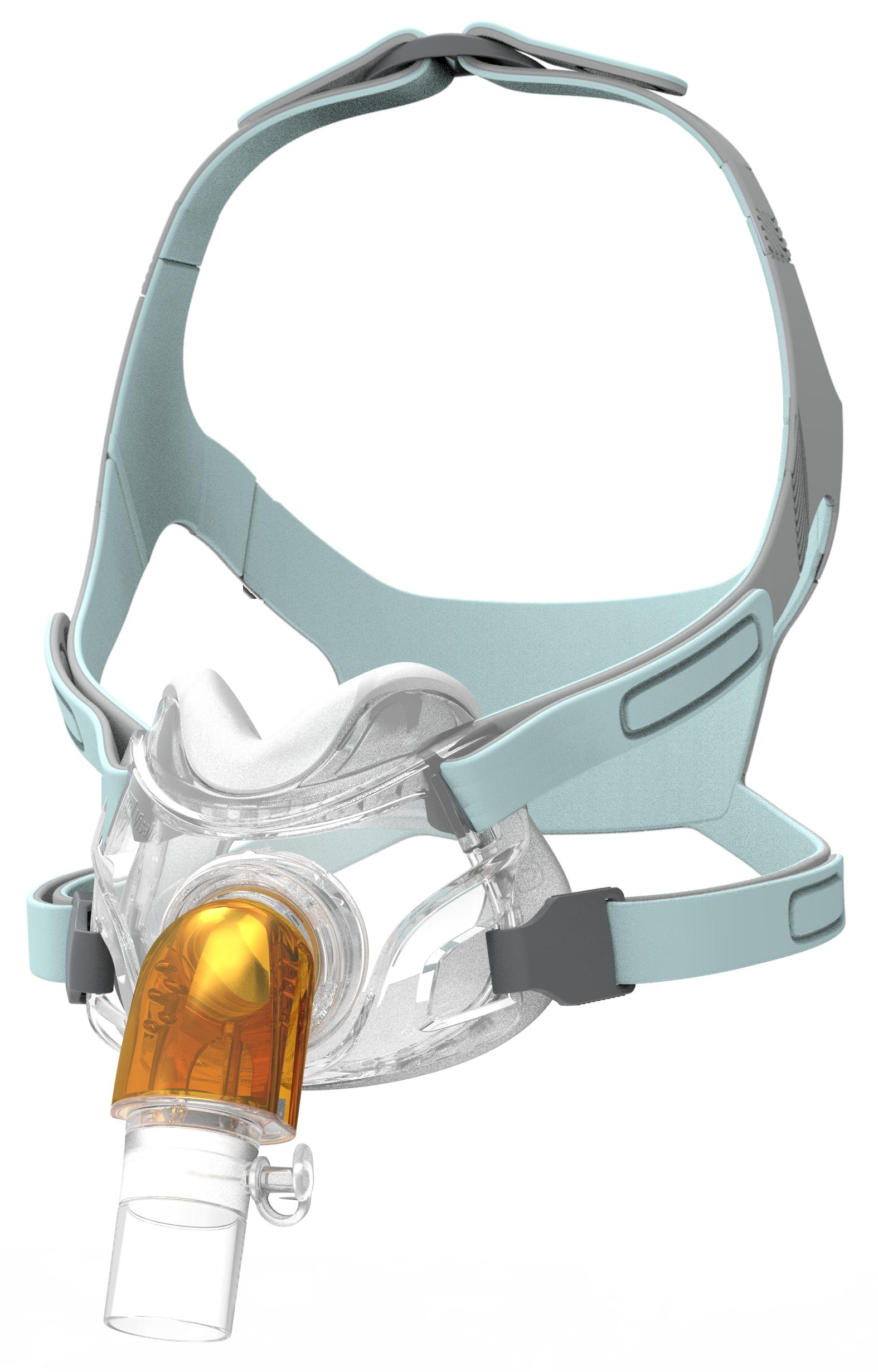 Visairo Hospital Under Nose Mask. Vented, anti-asphyxiation valve version