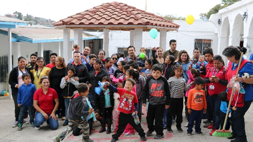 Fisher & Paykel Healthcare Mexican team sponsor over 50 children in Tijuana