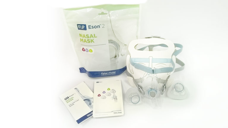 Contents of F&P Eson 2 fit pack