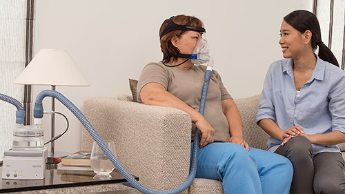 Noninvasive Ventilation for the home