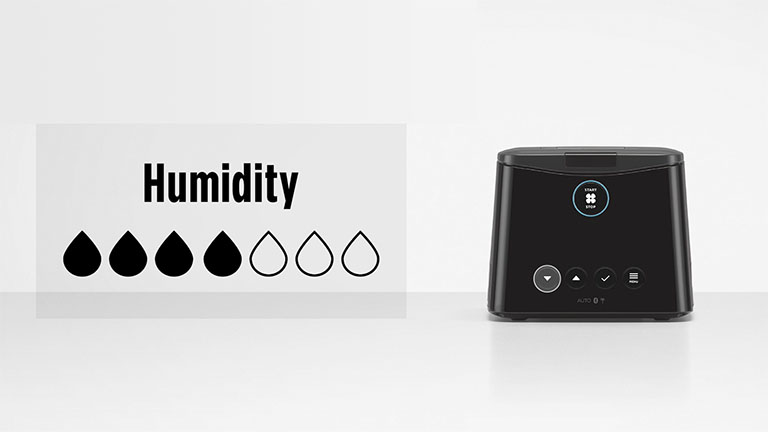 Changing your comfort settings | Humidity