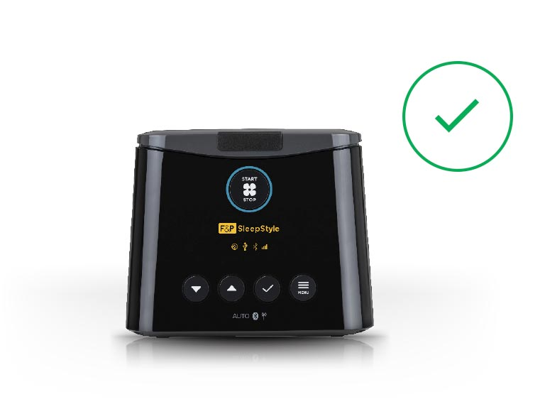 F&P SleepStyle - the only CPAP with the American Arthritis Foundation's Ease of Use Commendation