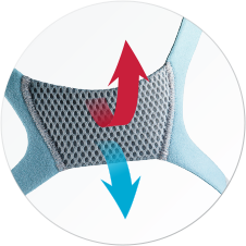 VentiCool technology designed to improve comfort