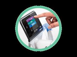 Symbol für interaktiven Touchscreen des F&P 950