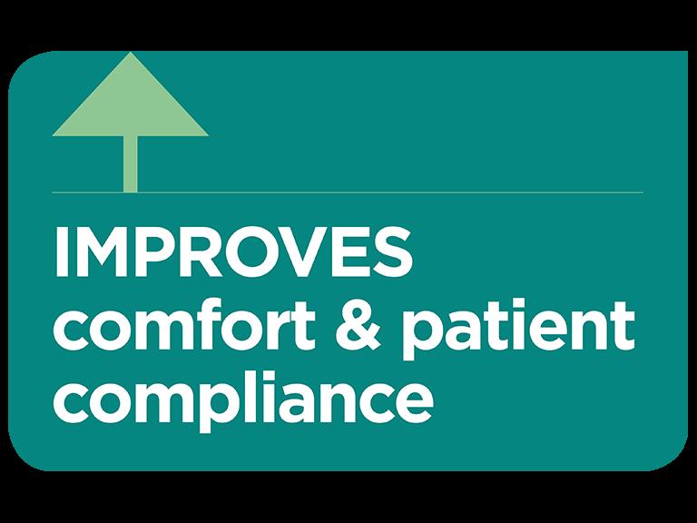 Optiflow improves comfort and patient compliance