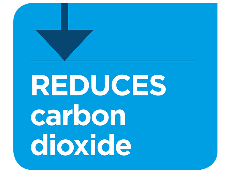 Physiological effect of reduced carbon dioxide infographic