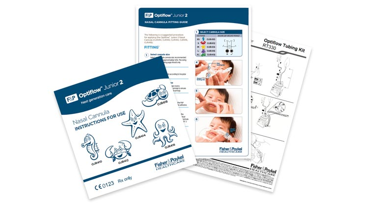 Optiflow Junior 2 Support Documents