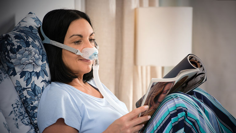 Introducing the F&P Brevida™ Nasal Pillows Mask