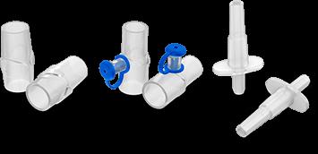 Adaptadores de circuito respiratorio para lactantes