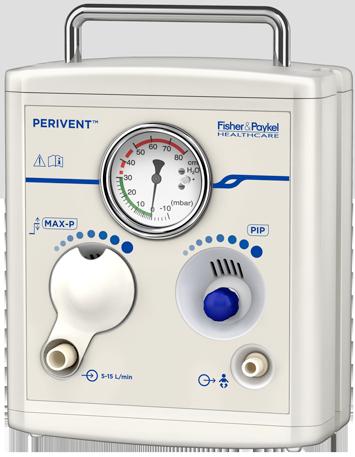 Perivent™-T-Stück-Erstversorgungssystem für Säuglinge