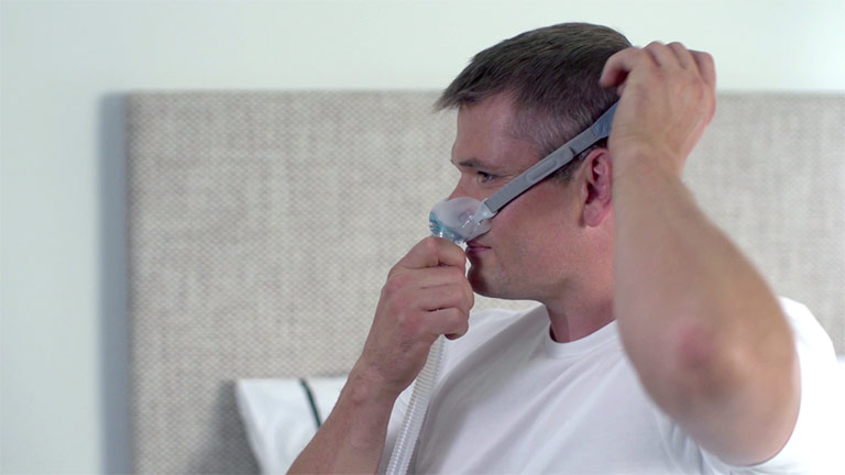 Fitting your F&P Brevida™ Nasal Pillows Mask