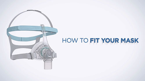 How to fit the F&P Eson 2 Nasal Mask