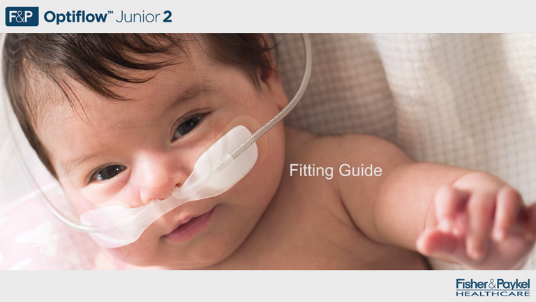 Optiflow Junior 2 Cannula Application Video
